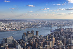 View above New York Royalty Free Stock Image