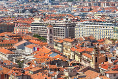 View from above on Nice, France. Stock Images