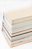 View from above on a pile of books Royalty Free Stock Image