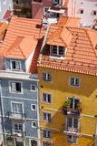 The view from above on the residential houses on the Campo Santa Royalty Free Stock Image