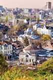 View from above of the revival city of Plovdiv Royalty Free Stock Images
