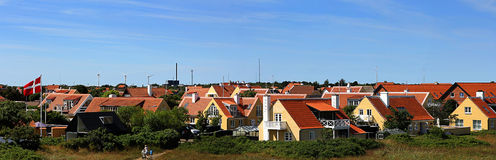 A view above Skagen Royalty Free Stock Images