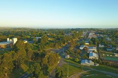 Korumburra township in South Gippsland Royalty Free Stock Image