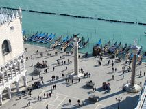 St Mark's Square in Venice, Italy Royalty Free Stock Photography