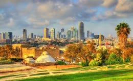 View of Abrasha Park - Jaffa, Tel Aviv Royalty Free Stock Photos