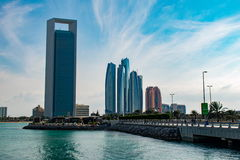 View of Abu Dhabi Stock Images