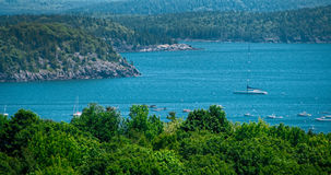 View from Acadia National Park Stock Photography
