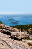 View from Acadia National Park in Maine, USA Royalty Free Stock Images