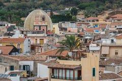 A view at the Aci Castello, Sicily island Royalty Free Stock Photos