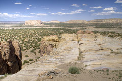 View from Acoma Sky City Royalty Free Stock Photography