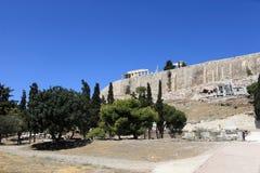 View of  Acropolis of Athens Royalty Free Stock Photos