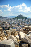View from the Acropolis in Athens, Greece Stock Images