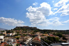 View of the Acropolis Royalty Free Stock Images