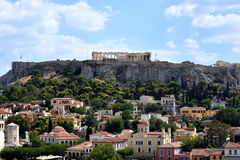 View of the Acropolis Stock Image