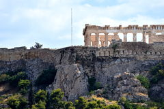 View of the Acropolis Stock Images