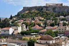 View of the Acropolis Royalty Free Stock Photo