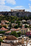 View of the Acropolis Royalty Free Stock Photography