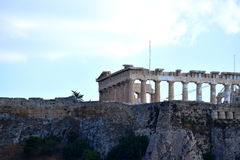 View of the Acropolis. This is the Acropolis in Athens, Greece Stock Image