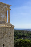 View from the Acropolis, Athens, Greece Stock Photo