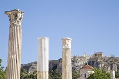 View of Acropolis royalty free stock photos