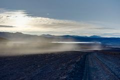 View Across Altiplano Bolivia Royalty Free Stock Images