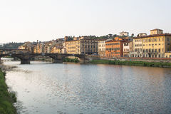 View across Arno River Stock Photography