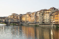 View across Arno River Royalty Free Stock Images
