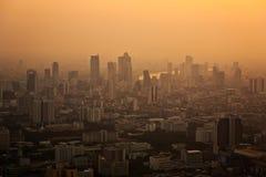 View across Bangkok skyline Stock Images