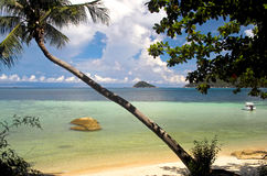 A view across a bay in Thailand Stock Photography