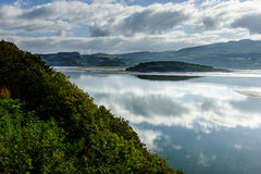 View across the estuary, at Portmeirion Royalty Free Stock Images