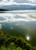 View across the estuary, at Portmeirion Stock Images