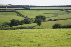 View across Exmoor Royalty Free Stock Photo