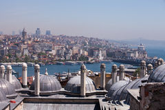 View across the Golden Horn, Istanbul Royalty Free Stock Photo