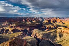 View across Grand Canyon South Rim Arizona Stock Images