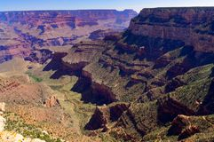 View across Grand Canyon South Rim Arizona Stock Photography