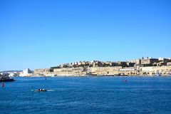 The Grand Harbour, Valletta. Stock Photo