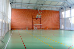View across in indoor sports court Stock Photography