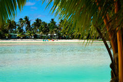 View across lagoon. Royalty Free Stock Photos
