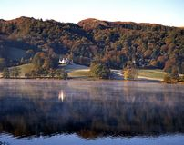 View across the lake, Grasmere. Stock Photos