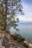 View Across Lake Tahoe Royalty Free Stock Images