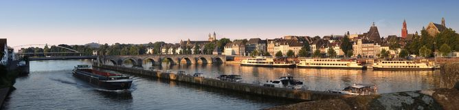 Maastricht, in the Netherlands Royalty Free Stock Photos