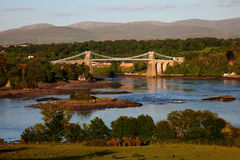 View Across the Menai Straits Royalty Free Stock Photography