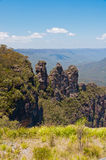Three Sisters, Blue Mountains, Australia Stock Photos