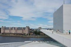View Across the Oslo Opera House Stock Photos