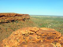 Outback Canyon Royalty Free Stock Photography