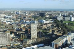 View across Portsmouth. England Royalty Free Stock Image