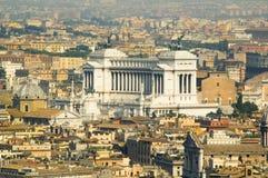 View Across Rome Stock Photo