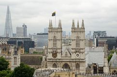 Westminster Abbey Facade Royalty Free Stock Photo