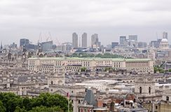 Ministry of Defence aerial view, London Royalty Free Stock Photography
