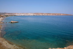 View across Sitia Bay Royalty Free Stock Photo